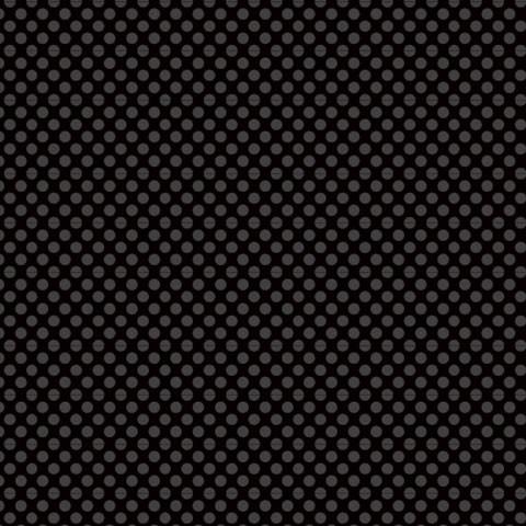 "Core'dinations Core Basics Cardstock 12 "" x 12 "" SCHWARZ Punkte groß / Black Large Dots GX-2300-86"