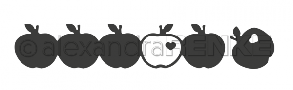 Alexandra Renke Stanzform Äpfel D-AR-C0001
