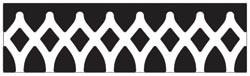 Martha Stewart Border - Stanzer Gothic Arches 42-40041