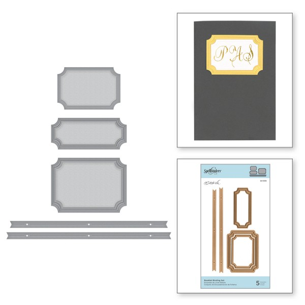 Spellbinders Stanzform Booklet Binding S4-1010