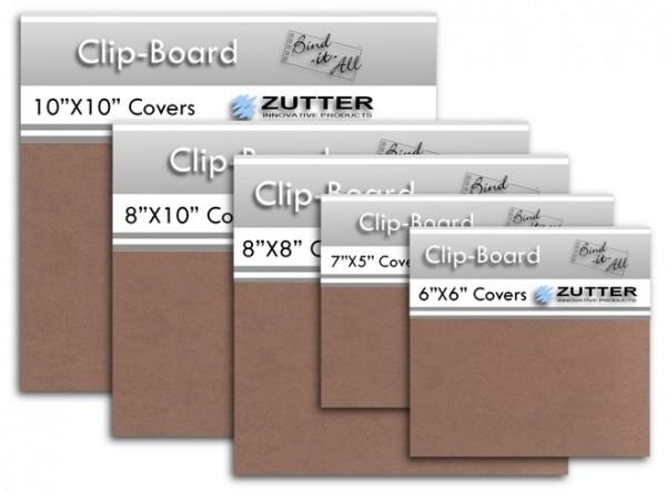 """Clip-Board 10 """" x 10 """" = 25,4 cm x 25,4 cm ( 2 Stück ) 2804"""
