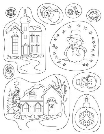 Clear Stamps Pergamano Weihnachten 41909