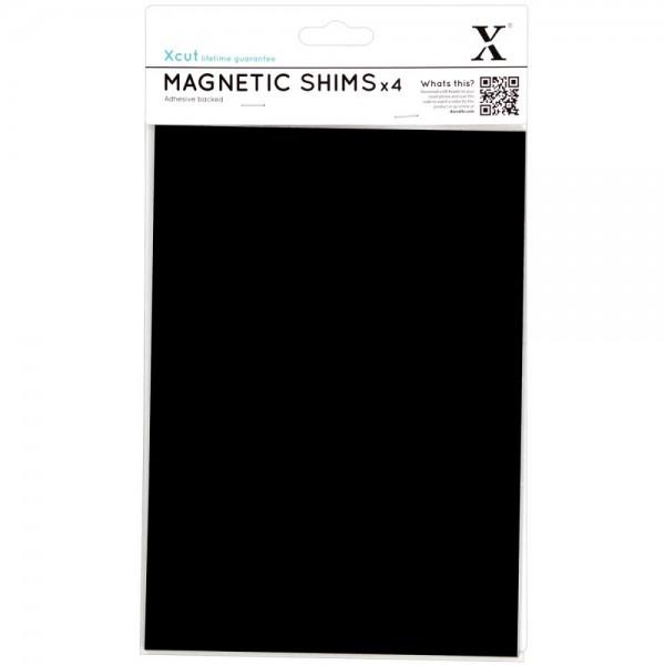Xcut Magnet-BlätterA 5 / Magnetic Shims A 5 mit Klebefolie XCU268013