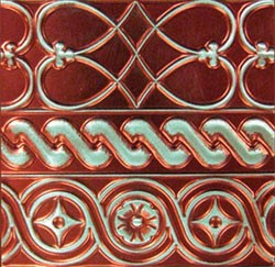 Metallfolie BARN RED ( Rot ) MB 7