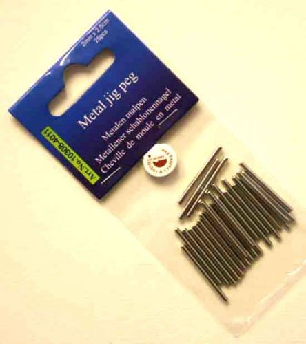 Metallstifte / Pegs für JIG Board Drahtformwerkzeug ( 26 Stück ) 12446-4602