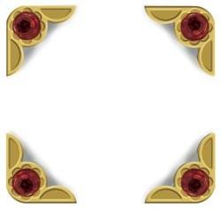 Crop-A-Dile III Buchecken Ruby Gem 41414-8