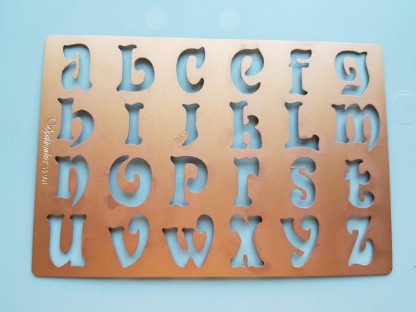 Spellbinders Stanzform Mosaic Alphabet / mosaic alphabet S5-001