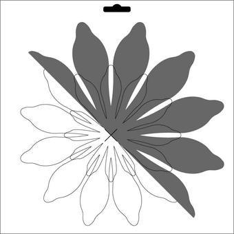 Schablone Scrapflower 2 CLSF 02
