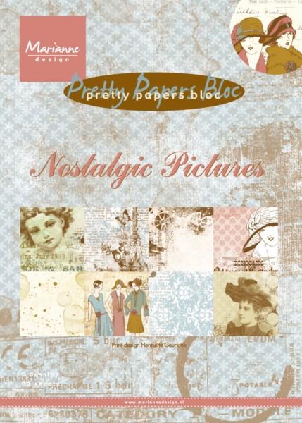 Marianne D Papierblock A 5 Nostalgic Pictures PK9117