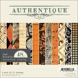 Authentique Papierblock Collection Glowing 15,2 x 15,2 cm BGL001
