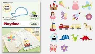 SLICE Fabrique Designkarte Playtime 36863
