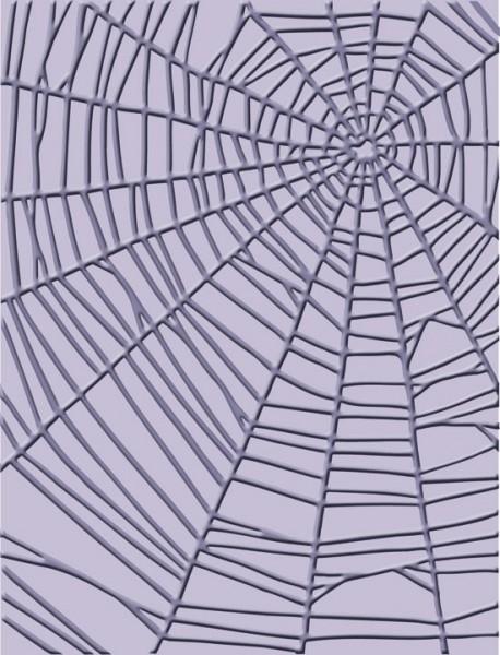 Cuttlebug Prägefolder Spinnennetz / spiderweb 37-1902