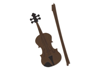 Allstar BIGZ Stanzform Geige / Violin & Bow A 10827