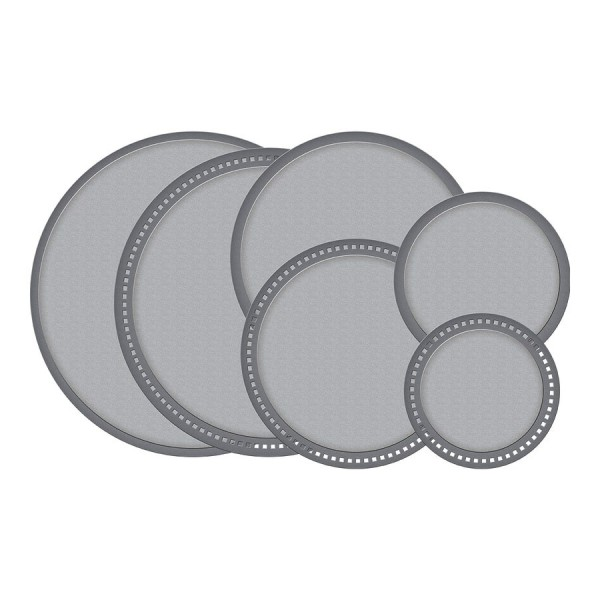 Spellbinders Stanz-u. Prägeform Kreise aus Punkten / Hemstitch Circles S4-928