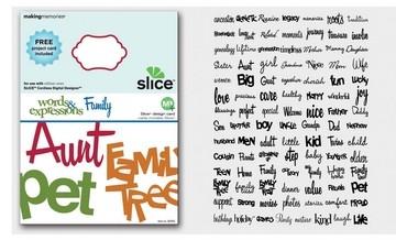 SLICE Design Karte Family ( MS + ) 33743