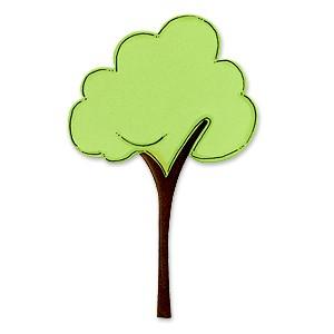 Sizzix Stanzform BIGZ Baum / tree 655730
