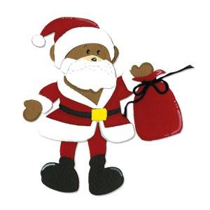 Sizzix Stanzform BIGZ Weihnachtsbär / Christmas Bear 656318
