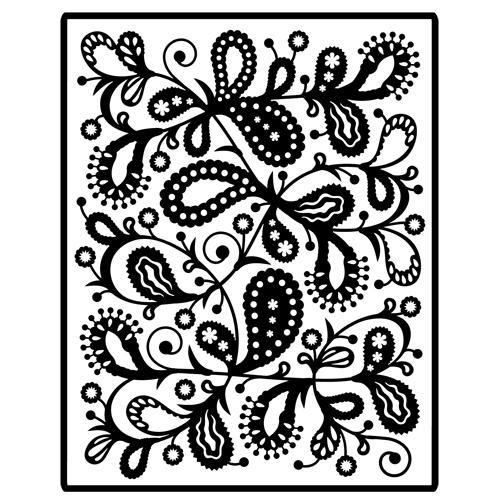 Spellbinders Impressabilities Paisley I2-1001
