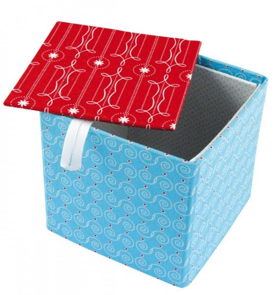 Pappmaché-Box Cover Me 12 cm x 12 cm x 11 cm 71-612-00