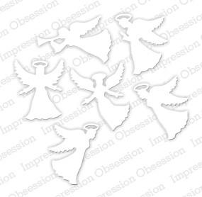 Impression Obsession Stanzform Engel-Set klein / Small Angel Set DIE356-R