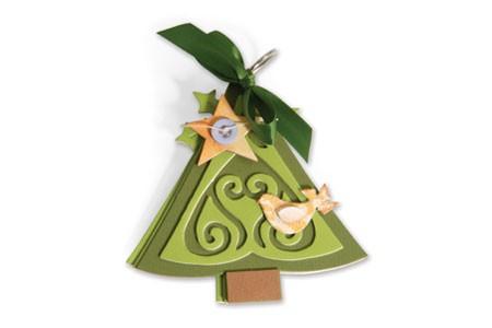 Sizzix Stanzform BIGZ XL Album Weihnachtsbaum / album Christmas tree 656692