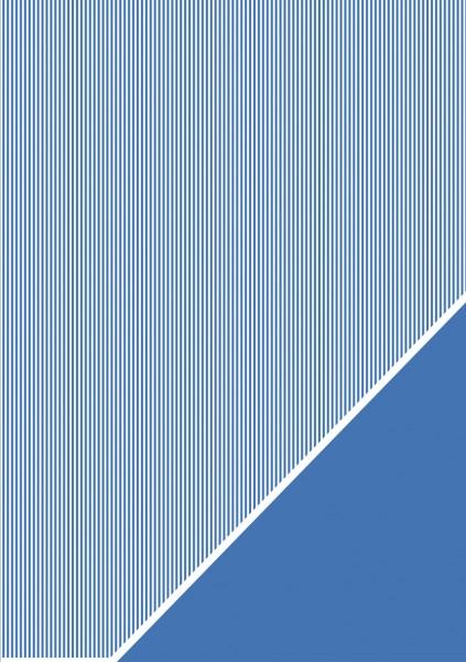 Bastelkarton Streifen A 4 ROYAL - BLAU 80-588-376