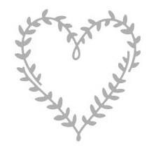 Rayher Stanzform Herz aus Blättern / Hearts of Leaves 59-975-000