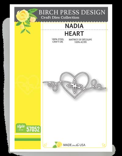 Birch Press Design Stanzform Herz / Nadia Heart 57052