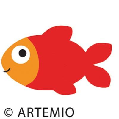 Artemio Happycut Stanzform 5,2 x 5,2 cm Fisch / fish # 25 18020025