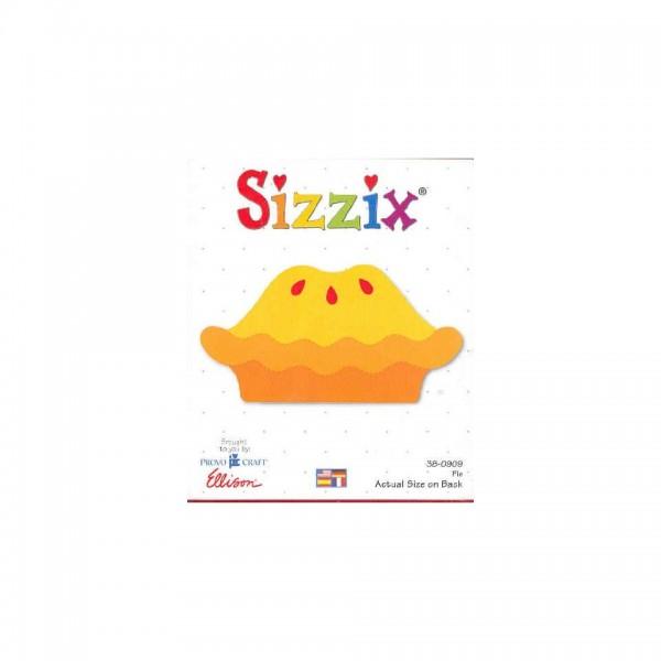 Sizzix Stanzform Originals LARGE Kuchen / pie 38-0909