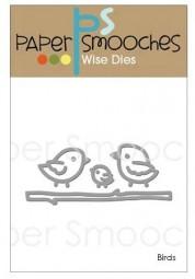 Paper Smooches Stanzform Vögel u. Ast / Birds DED288