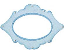 Sizzix Stanzform Originals LARGE Rahmen elegant / frame elegant 655458
