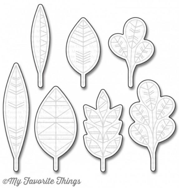 Dienamics Stanzform Blätter / Geometric Greenery MFT-976