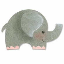 Sizzix Stanzform Originals Medium Elefant # 2 / elephant # 2 655351
