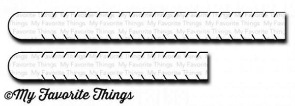 Dienamics Stanzform Aufreiss-Laschen / Essential Sentiment Rip Strips MFT-1109