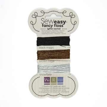 Sew Easy Faden-Sortiment GLITTER NEUTRALS 71153-7