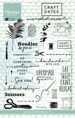 Marianne D Clear Stempel Craft Dates 2