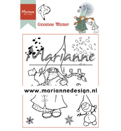 Marianne D Clear Stempel Hetty's Gnomes Winter HT1648