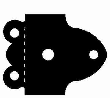AccuCut Stanzform Zip' e Cuts Scharnier # 4 / hinge # 4 ZHW 090