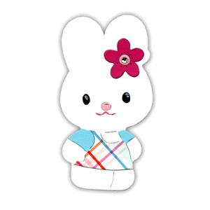 Sizzix Stanzform Originals LARGE Hello Kitty Hase Kathy 655789