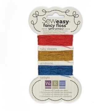 Sew Easy Faden-Sortiment GLITTER PRIMAY 71150-6