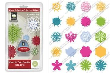 Cricut Cartridge Solution Seasonal cold outside 20-0052
