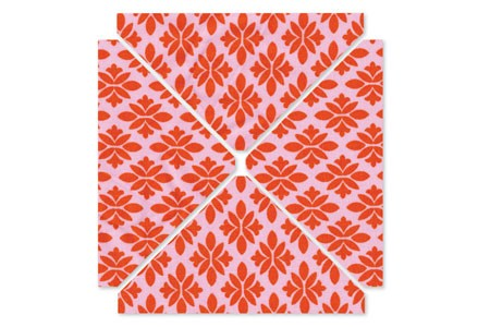 "Quilting L Stanzform Quarter-Square Triangles, 2""H x 4""W Finishe"
