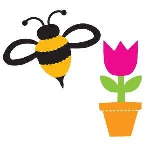 Biene & Tulpe / Buzzy Bee & Tulip Time 41474