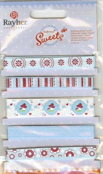 Bänder-Set Tante Ema Sweets 53-424-374 (blau )