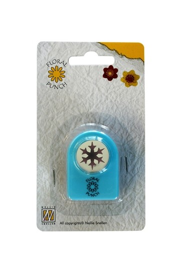 Nellie Floral Punch Motivstanzer Blütenstände xmas 1 FLP012 ( hellblau )