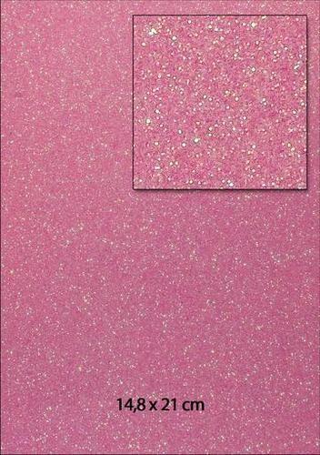 Glitterpapier A 5 R O S A 653000/0060