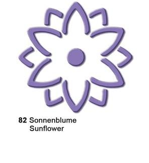 Motivstanzer Pop-up groß Blume ( flieder ) UR 1944 00 82