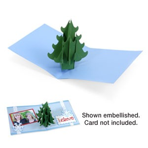 Sizzix Stanzform BIGZ XL Weihnachtsbaum 3-D 656276