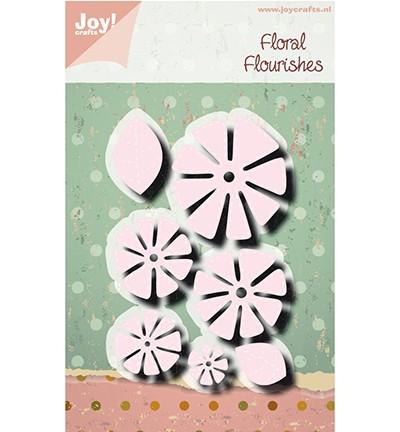 Joycrafts Stanzform Blumen mit Nähnaht / Charlotte 6002/1314